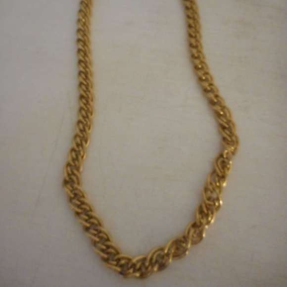 Favorite Monet Jewelry | Double Chain Gold Necklace Heavier Weight | Poshmark OH85